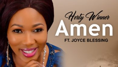 "Photo of Herty Winner teams up with Joyce Blessing for ""AMEN"""