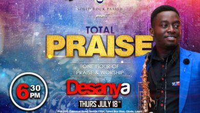 Photo of RCCG Solid Rock Parish Present 'TOTAL PRAISE' with Desanya