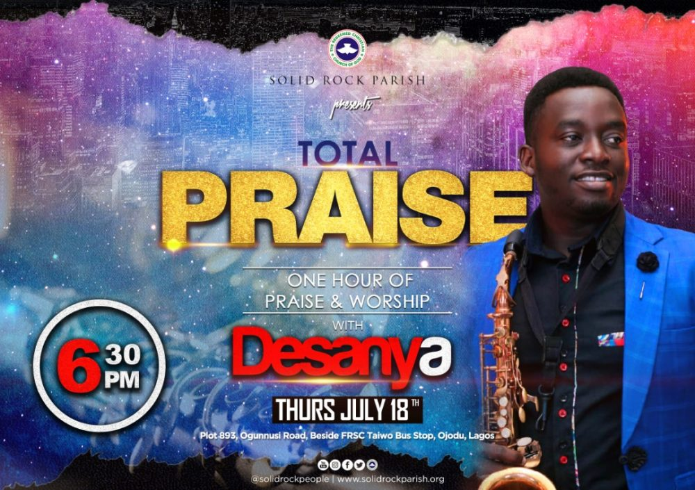 TOTAL PRAISE with DESANYA