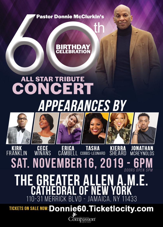 Donnie 60th Birthday Concert