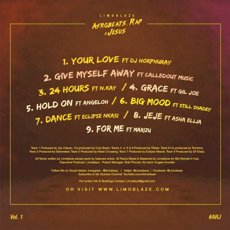 Afrobeat, Rap & Jesus_Tracklist