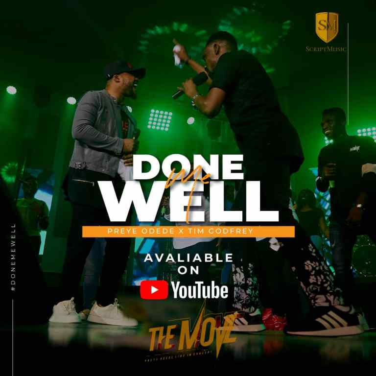 Done Me Well - Preye Odede