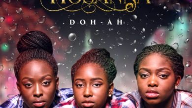 "Photo of Sisters trio Doh-Ah Sing ""Hosanna"" in New Song"