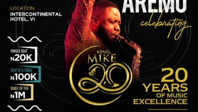 Photo of Mike Aremu To Mark 20 Years Of Musical Excellence with A Concert