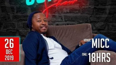 "Photo of Zambian Singer Abel Chungu to Headline His First Comedy Show ""Rumor Has It"""
