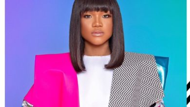 "Photo of Ada Ehi Makes Bold Fashion Statement in ""Coat of Many Colors"""