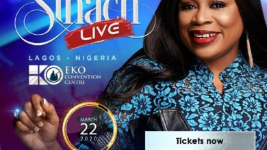 Photo of Sinach Preps Live Concert in Lagos!