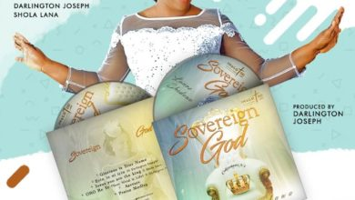 """Photo of Lanre Shedowo Releases """"Sovereign God"""" Album (Now Available)"""